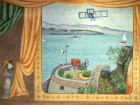 Bakersfield Vermont curtain.